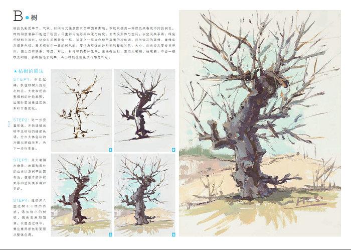 敲门砖励志美术丛书 我能上美院色彩风景 李家友色彩水粉风景临摹写生