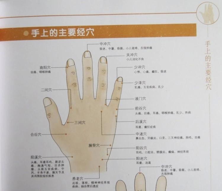图解三分钟手疗 手诊与手疗 手部穴位按摩 手操保健