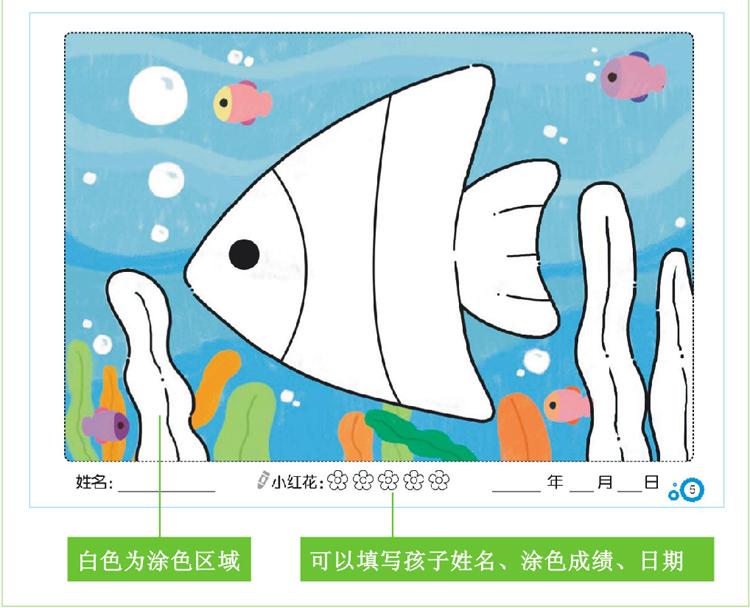 全套4册 好宝宝阶梯涂色 幼儿简笔画涂色本1-2-3-4-5-6岁图画书儿童