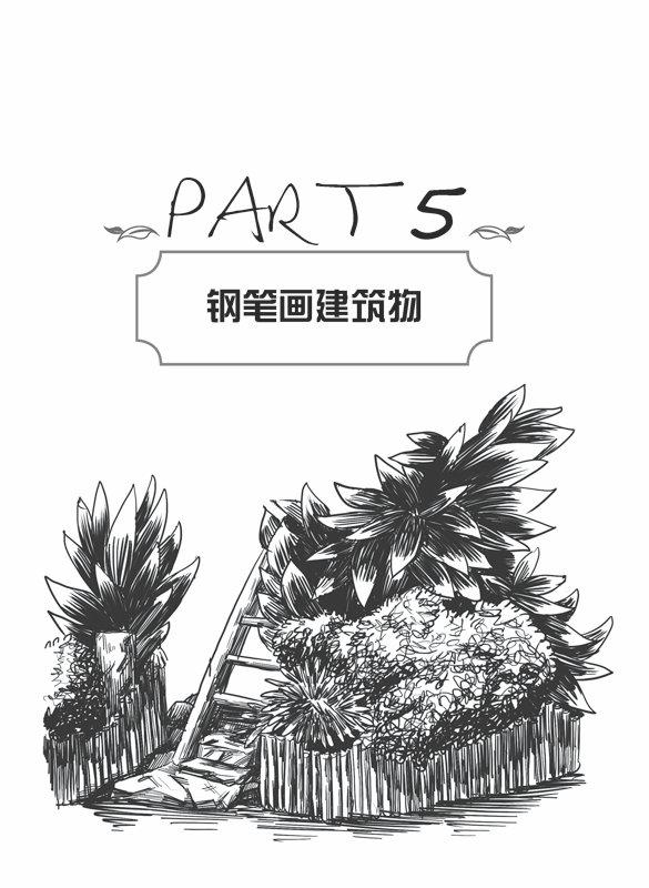 钢笔画技法入门基础教程 【正版书籍】