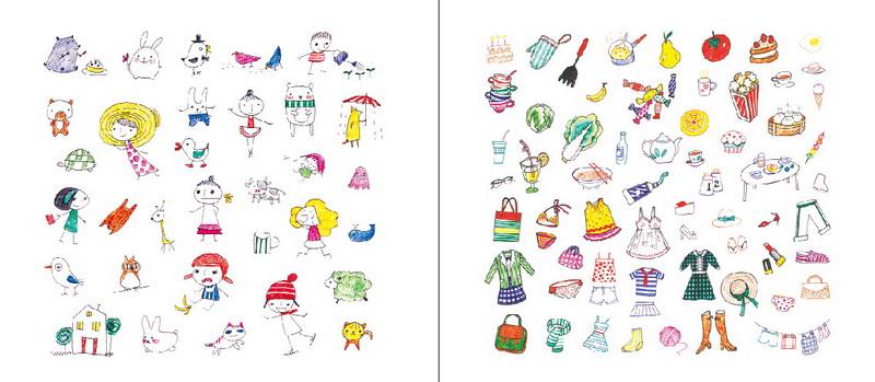 画法简单易学,只要短短几分钟,就能让你信手涂画出超可爱的简笔画.