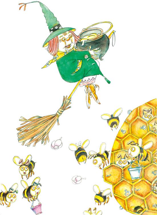 彩霞手柄(鲁冰花园)鲁冰9787501611058蜜蜂游戏打小果酱图片