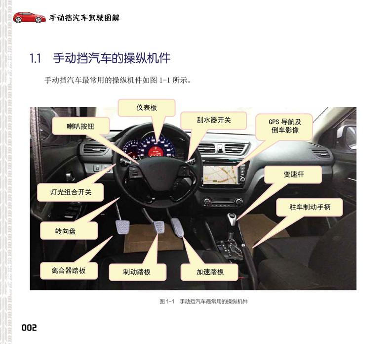 正版r7_手动挡汽车驾驶图解 9787122274311 化学工业出版社