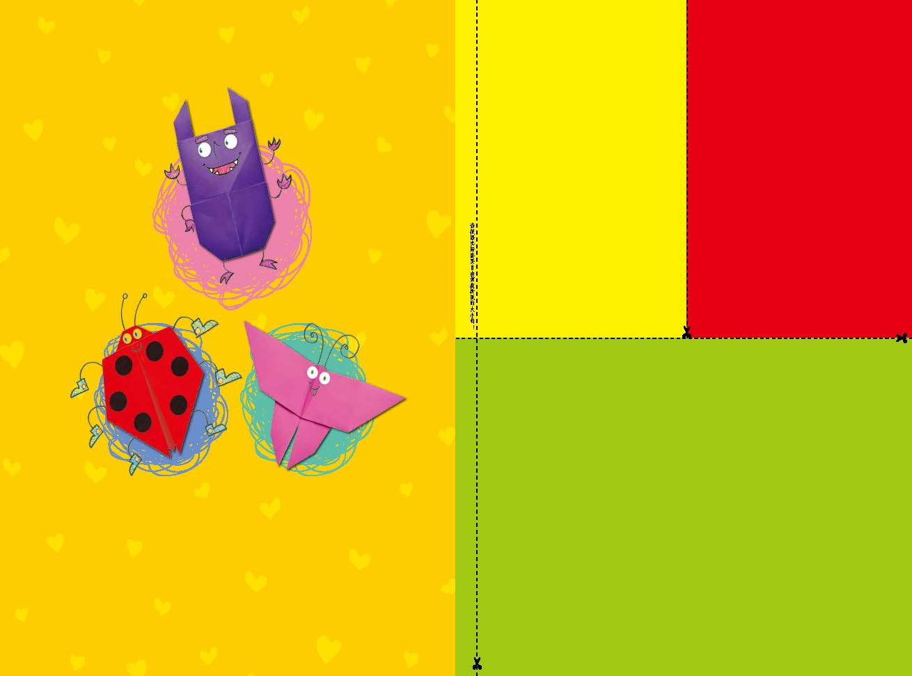 书中折纸形象步骤清晰,文字简单,从而提高孩子的动手能力及辨物能力.