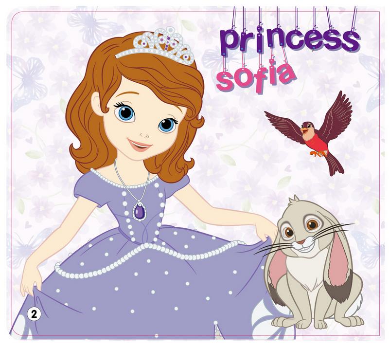 小公主苏菲亚-美乐涂 卡普猫 9787536578142